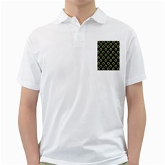 Peacock Inspired Background Golf Shirts