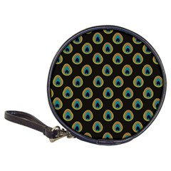 Peacock Inspired Background Classic 20-CD Wallets