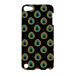 Peacock Inspired Background Apple iPod Touch 5 Hardshell Case