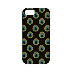 Peacock Inspired Background Apple iPhone 5 Classic Hardshell Case (PC+Silicone)