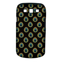 Peacock Inspired Background Samsung Galaxy S III Classic Hardshell Case (PC+Silicone)