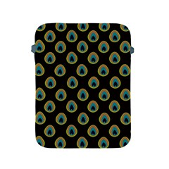 Peacock Inspired Background Apple iPad 2/3/4 Protective Soft Cases
