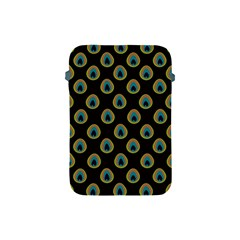 Peacock Inspired Background Apple iPad Mini Protective Soft Cases