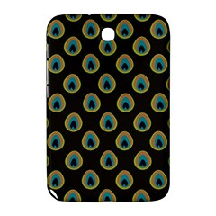 Peacock Inspired Background Samsung Galaxy Note 8.0 N5100 Hardshell Case