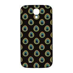 Peacock Inspired Background Samsung Galaxy S4 I9500/i9505  Hardshell Back Case