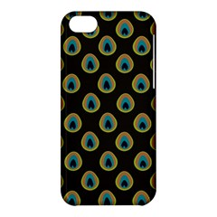 Peacock Inspired Background Apple iPhone 5C Hardshell Case