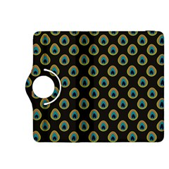 Peacock Inspired Background Kindle Fire HDX 8.9  Flip 360 Case