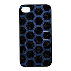 HXG2 BK-MRBL BL-STONE Apple iPhone 4/4S Hardshell Case with Stand