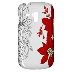Poinsettia Flower Coloring Page Galaxy S3 Mini
