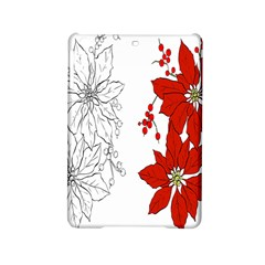 Poinsettia Flower Coloring Page Ipad Mini 2 Hardshell Cases