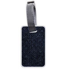 HXG1 BK-MRBL BL-STONE Luggage Tags (Two Sides)