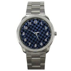 HTH2 BK-MRBL BL-STONE Sport Metal Watch