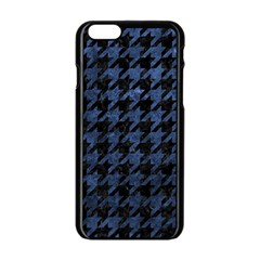 HTH1 BK-MRBL BL-STONE Apple iPhone 6/6S Black Enamel Case