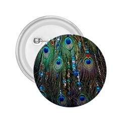 Peacock Jewelery 2.25  Buttons