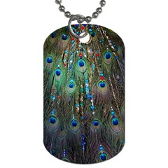 Peacock Jewelery Dog Tag (one Side)
