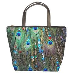 Peacock Jewelery Bucket Bags