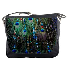 Peacock Jewelery Messenger Bags