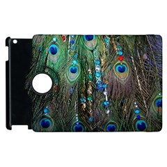Peacock Jewelery Apple iPad 2 Flip 360 Case