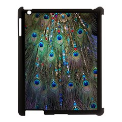 Peacock Jewelery Apple iPad 3/4 Case (Black)