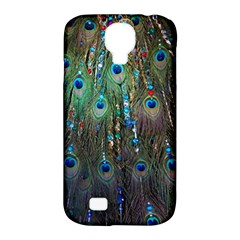 Peacock Jewelery Samsung Galaxy S4 Classic Hardshell Case (PC+Silicone)
