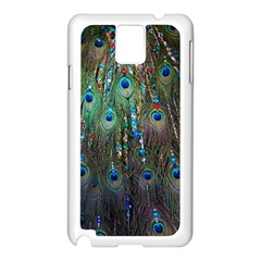 Peacock Jewelery Samsung Galaxy Note 3 N9005 Case (white)