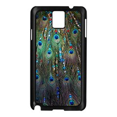 Peacock Jewelery Samsung Galaxy Note 3 N9005 Case (Black)