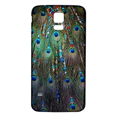 Peacock Jewelery Samsung Galaxy S5 Back Case (White)