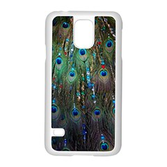 Peacock Jewelery Samsung Galaxy S5 Case (White)