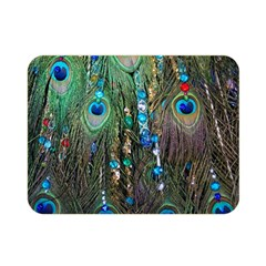 Peacock Jewelery Double Sided Flano Blanket (Mini)