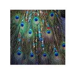 Peacock Jewelery Small Satin Scarf (square)