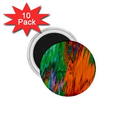 Watercolor Grunge Background 1.75  Magnets (10 pack)