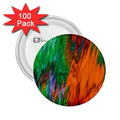 Watercolor Grunge Background 2.25  Buttons (100 pack)
