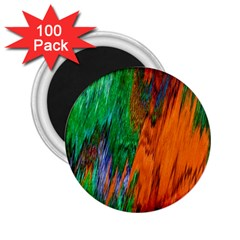 Watercolor Grunge Background 2 25  Magnets (100 Pack)