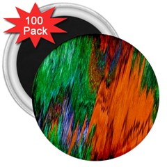 Watercolor Grunge Background 3  Magnets (100 Pack)