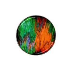 Watercolor Grunge Background Hat Clip Ball Marker (4 Pack)