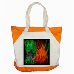Watercolor Grunge Background Accent Tote Bag