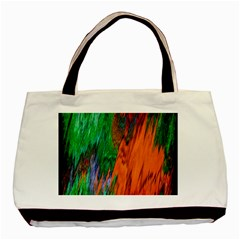 Watercolor Grunge Background Basic Tote Bag (Two Sides)