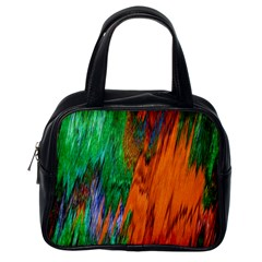 Watercolor Grunge Background Classic Handbags (One Side)