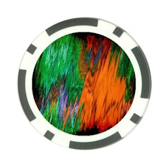 Watercolor Grunge Background Poker Chip Card Guard (10 Pack)