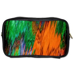 Watercolor Grunge Background Toiletries Bags 2-Side