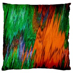 Watercolor Grunge Background Large Cushion Case (Two Sides)