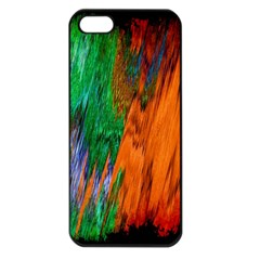 Watercolor Grunge Background Apple iPhone 5 Seamless Case (Black)