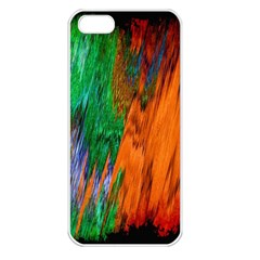Watercolor Grunge Background Apple Iphone 5 Seamless Case (white)