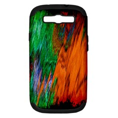 Watercolor Grunge Background Samsung Galaxy S III Hardshell Case (PC+Silicone)
