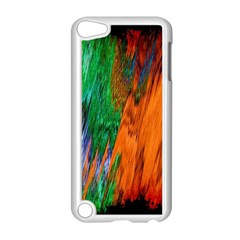 Watercolor Grunge Background Apple iPod Touch 5 Case (White)