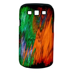 Watercolor Grunge Background Samsung Galaxy S III Classic Hardshell Case (PC+Silicone)