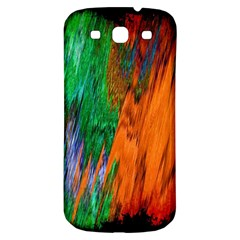 Watercolor Grunge Background Samsung Galaxy S3 S III Classic Hardshell Back Case