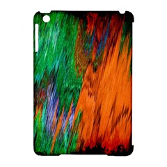 Watercolor Grunge Background Apple iPad Mini Hardshell Case (Compatible with Smart Cover)