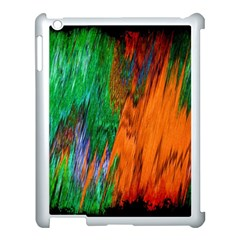 Watercolor Grunge Background Apple iPad 3/4 Case (White)