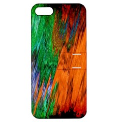 Watercolor Grunge Background Apple iPhone 5 Hardshell Case with Stand